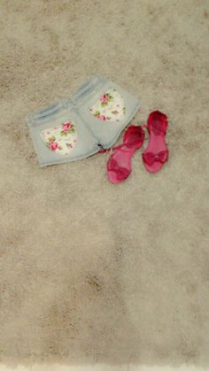 Jeans pant with floral for summer outfits