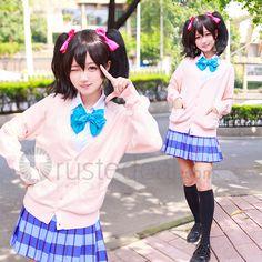 ♥ ♥ Love Live nozomi tojo and nico yazawa and kotori minami and maki nishikino and honoka and rin Summer School Uniform sweater Cosplay Costume $24.99-->>> http://www.trustedeal.com/love-live-school-summer-uniform-cosplay-costume.html