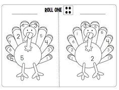 Roll Two Dice Turkey & Turkey Poems