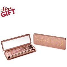 Urban Decay Naked3 Eyeshadow Palette (15.760 HUF) ❤ liked on Polyvore featuring beauty products, makeup, eye makeup, eyeshadow, no color, urban decay eye shadow, urban decay, matte eyeshadow, matte palette eyeshadow and matte eye shadow