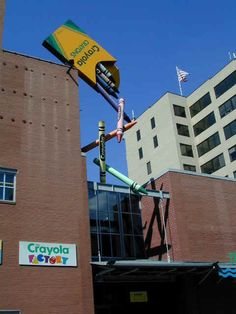 The Crayola Factory...Easton, PA.  Molly loved this...okay so did we.
