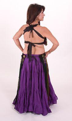 Adira Dance and Costume - Dancewear for all dance styles.: Earthy Yarn Bra & Belt