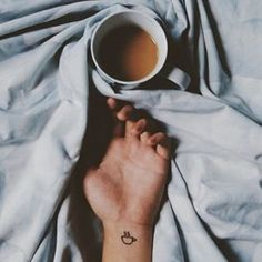 Pin for Later: 40 Stylish Small Tattoos You'll Want to Flaunt Every Day Caffeinated