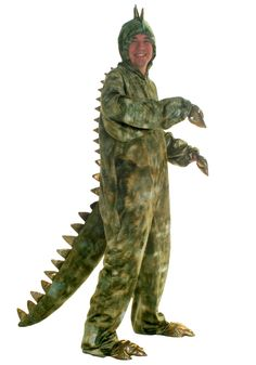 Adult T-Rex Dinosaur Costume aka Community Dragon Turtle