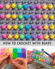How to Crochet with Beads - Tutorial