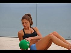 Fitness: Fast Belly Blaster: Ab-Toning Medicine Ball Workout -