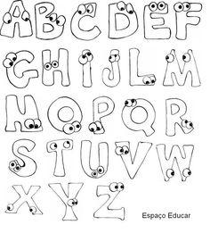 Bildergebnis für desenhos de letras bonitas do alfabeto Hand Lettering Alphabet, Doodle Lettering, Creative Lettering, Calligraphy Alphabet, Lettering Styles, Calligraphy Fonts, Monogram Alphabet, Lettering Tutorial, Art Mots