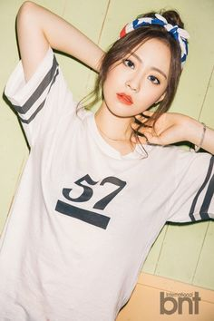 BNT International June Issue (2015) || Heo Youngji
