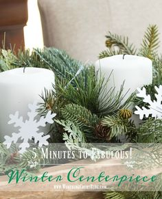 44 Ideas For Diy Table Centerpieces Winter Christmas Decor Winter Table Centerpieces, Diy Centerpieces, Christmas Centerpieces, Christmas Decorations, Winter Fun, Winter Christmas, Winter Magic, Merry Christmas, Diy Bath Bombs Easy