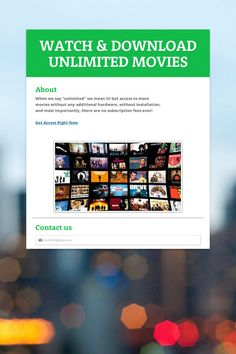 WATCH & DOWNLOAD UNLIMITED MOVIES