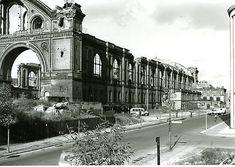 1955 Anhalter Bahnhof von der Moeckernstrasse aus gesehen