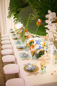 Summer Design  PLANNER: Erin Hansen, Erin Hansen Events & Designs, @ErinEventDesign FLORIST: Empty Vase, @TheEmptyVase STATIONERY: Clementine Studio, @ClementineStudio FAVORS: Bottega Louie, @BottegaLouie