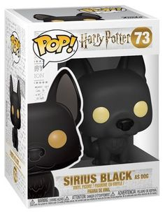 Sirius Black as Dog Vinyl Figure 73 Harry Potter Film, Harry Potter Dolls, Harry Potter Items, Slytherin Harry Potter, Harry Potter Facts, Hogwarts, Sirius Black, Pop Figures, Vinyl Figures