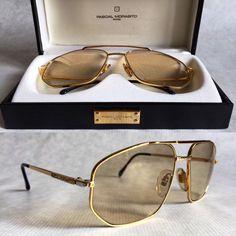 Pascal Morabito 24K Gold Photochromatic Crystal Lenses Men Sunglasses Fashion, Fashion Eye Glasses, Versace Sunglasses, Sunglasses Accessories, Men's Sunglasses, Vintage Sunglasses, Mens Glasses, Black Men, Eyewear