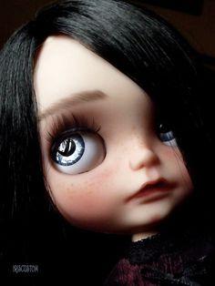 """Reservados listado para M *** Ooak Custom Blythe Art Doll """"Nell"""" por Iriscustom"""