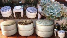 m s muebles con llantas reciclar pinterest tires ideas recycle tires and ideas para. Black Bedroom Furniture Sets. Home Design Ideas