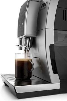 Delonghi Dinamica Espresso Machine ECAM35025SB - Espresso Machine Experts Italian Espresso Machine, Espresso Machine Reviews, Coffee Maker Reviews, Best Espresso Machine, Cappuccino Machine, Double Espresso, Espresso Shot, Espresso Maker, Espresso Coffee