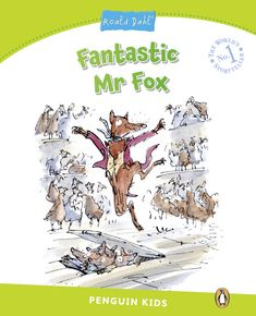 """Fantastic Mr Fox. Roald Dahl. Boggis, Bunce and Bean are very rich, very mean farmers, and they hate Mr Fox. Every evening, Fox goes down to one of their farms and takes a chicken, a duck or a turkey for dinner. The angry farmers want to kill Mr Fox and they have an idea. """"Let's dig him out, him and his family!"""" But foxes are better diggers than men, and Mr Fox has a fantastic idea too! Very Meaning, Fantastic Mr Fox, Roald Dahl, Foxes, Farmers, Hate, Turkey, Chicken, Dinner"""