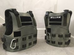 Kids tactical body armour made from Eva foam   Nerf body armour for kids