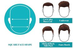 best short hairstyles for men with square face shape