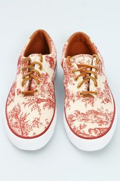 Listed as Gorgeous Keds, although I thought they were Vans at first. I think they are Vans.
