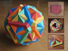 Lampada Origami Di Edward Chew : Best lámparas images crafts bricolage modular origami