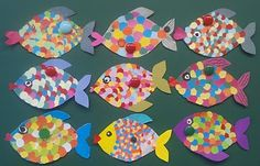 This would be a good fine motor cutting activity after learning about circles as geometric shapes found in art.