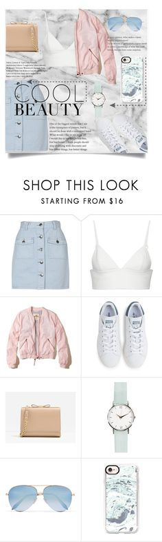 """Y O U N G & F R E E"" by shadowlady13 on Polyvore featuring MINKPINK, T By Alexander Wang, Hollister Co., adidas, CHARLES & KEITH, Victoria Beckham, Casetify, Spring, pastel and CasualChic"
