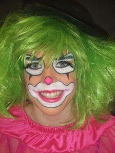 classic clown make up - Google Search