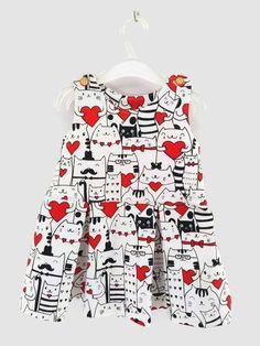 Sukienka dla dziewczynki roz 86 - Muusia - Ubranka dla niemowląt