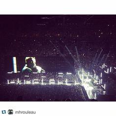 #Repost @mhrouleau ・・・ Another night at work! #U2 #Bono #killingit #fullhouse #Montreal #U2ieTour