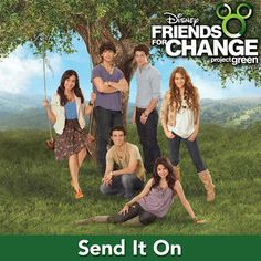 iTunes - Music - Send It On (feat. Demi Lovato, Jonas Brothers, Hannah Montana…