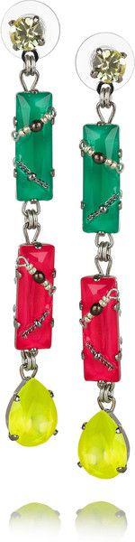 Colour Me Crazy Swarovski Crystal Earrings