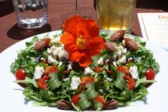 this salad is pretty and is pretty delicious!!