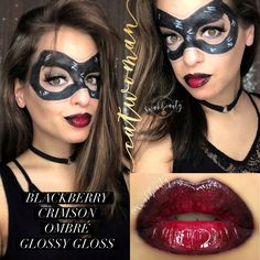 Catwoman Makeup Mask Hairsjdiorg