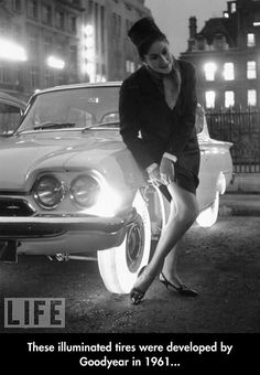 Developed by Goodyear in 1961.