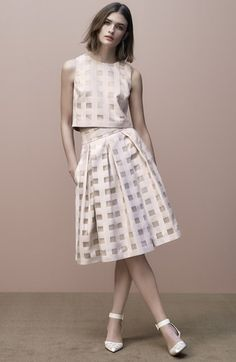 b95b3bd22c0b Two piece dress in blush   Spring Spotlight   Dresses   Nordstrom Blush  Dresses, Eliza