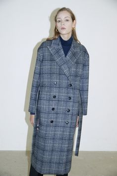 #heroine #히로인 #check #coat #longcoat #winterfashion #fashion #fashiondesign #fashionphotography #lookbook #style #stylish #contemporary #womensfashion #womenswear #checkcoat Tailored Coat, Raincoat, Jackets, Fashion, Rain Gear, Down Jackets, Moda, Jacket, Fasion