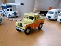 Dinky, Mersey Tunnel Land Rover Code 3′s, Dinky Toys
