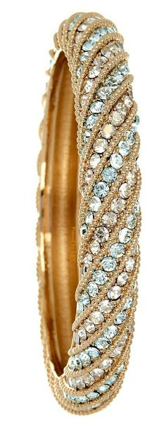 Valentino Pave Bangle love this Bling Jewelry, Gemstone Jewelry, Jewelry Box, Jewelry Accessories, Fashion Accessories, Jewelry Design, Fashion Jewelry, Valentino, Diamond Are A Girls Best Friend
