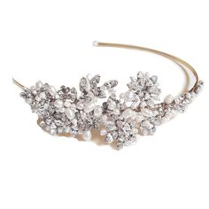 Ivory and Co Safiya Gold Headband is just £160.00 | Crystal Bridal Accessories - www.crystalbridalaccessories.co.uk