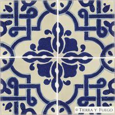 Mexican Tile - Mosaico Azul Mexican Tile
