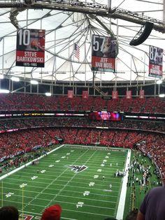 The Georgia Dome, Atlanta, GA  RISE UP!