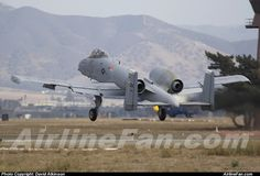 United States Air Force Fairchild A-10A Thunderbolt  http://www.airlinefan.com/airline-photos/United-States-Air-Force/Fairchild/A-10A-Thunderbolt/89-0195/1724682/