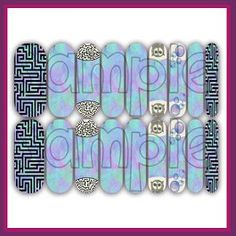 Goblin Queen #jamberry nail wraps by A Krazy Korner! $25 Per sheet http://akrazykorner.tk Order yours today!