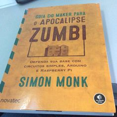 Something we loved from Instagram! Quem espera sempre alcança! Hahahahahaha eu quase comprei o livro na editora por 63 Dilmas...mas desisti de última hora... Procurando nas lojas virtuais achei por 47 e frete grátis! Deu pra economizar uns trocados e hoje chegou pra minha diversão e tristeza dos zumbis hahahahaha Amo cheiro de livro novo! #livro #book #arduino #raspberrypi #maker #zumbi by gedeanekenshima Check us out http://bit.ly/1KyLetq