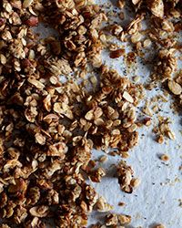 Almond-Poppy Seed Granola from pastry genius Belinda Leong of b. patisserie in San Francisco