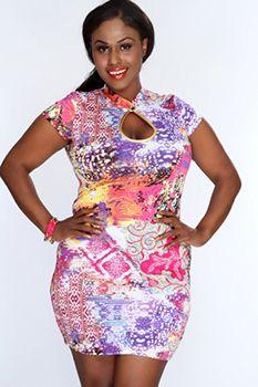 Plus Size Clubwear, Plus Size Mini Dresses, Elegant Dresses For Women, Plus Size Fashion For Women, Amazing Women, Fat, Bodycon Dress, Nice, Purple