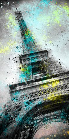'City-Art PARIS Eiffeltower III' von Melanie Viola bei artflakes.com als Poster oder Kunstdruck. Weitere Shops: http://www.melanieviola-fotodesign.de/shops-kunst-kaufen.html
