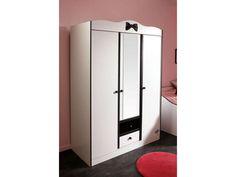 Soldes Armoire Conforama, achat Armoire 3 portes 2 tiroirs Lovely prix promo Soldes Conforama 364.60 € TTC au lieu de 604.20 €
